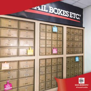 Secured MBE Mailboxes