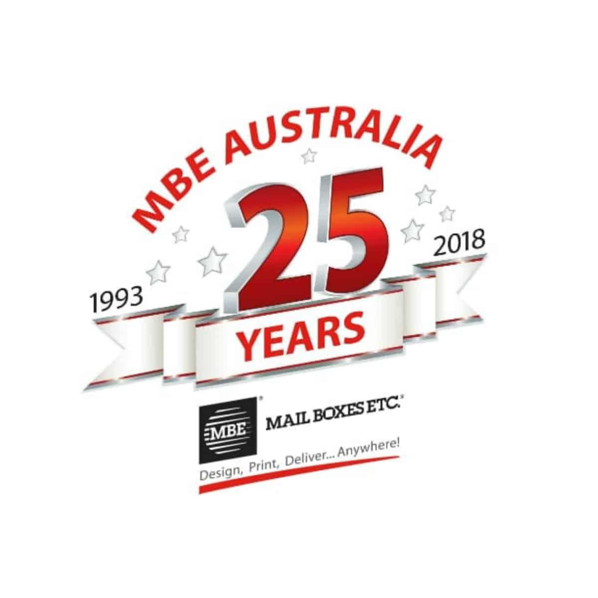 25 years MBE Australia Banner Image