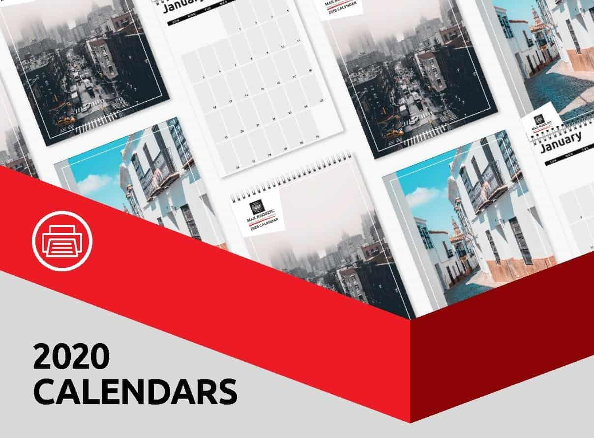 Custom Calendar Printing Australia Banner Left